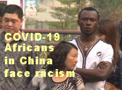 Africans in China face racism