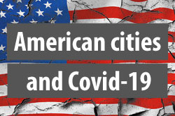 US cities and Covid-19