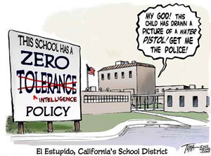 pros and cons of zero tolerance policing Start studying community policing and problem oriented policing learn vocabulary, terms,  pop and zero tolerance policing problem oriented policing .