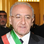 Vincenzo De Luca, Mayor, Salerno, Italy