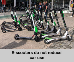 E-scooters in Europe