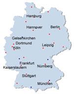 City Mayors Football World Cup 2006 Host cities